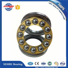 Brass Cage Precision Thrust Ball Bearing (51128M) with Dimension 140*180*31mm