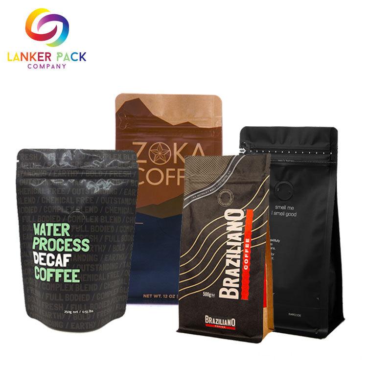 Eco Friendly Resuable Kraft Paper Valve Bag