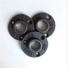 Good quality black cast iron floor flange