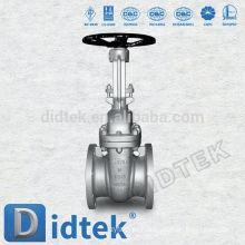Válvula de porta de flange de extremidade de alta qualidade Didtek