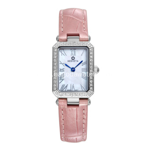 Ladies fashion square two hands wrist watches