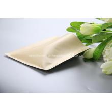 Saco de vedação lateral em papel Kraft 3 com válvula