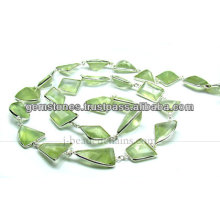 Wholesale Fancy Cut Nugget Gemstone Beaded Chains, Gemstone Jewelry Manufacturer
