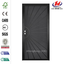 Outswing Steel Security Wood Door