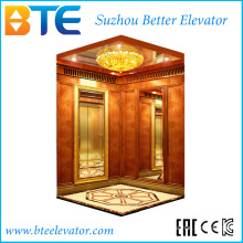 Ce Professional und gute Dekoration Passenger Lift ohne Maschinenraum