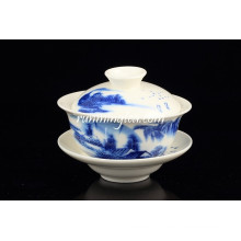 Azul Paisagem Pu Er Gaiwan Tea Set