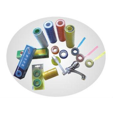 0,1 mm de espesor PTFE hilo de cinta de sellado / cinta de tubería / cinta de teflón