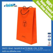 China Großhandel billig Mode Mittagessen Kraftpapier Tasche