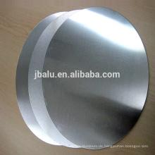 Aluminiumblechkreis mit Fabrikaktienpreis für mehrfachen Gebrauch