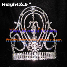 Wholesale Crystal National Queen Crowns