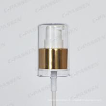 Pompe à crème cosmétique en aluminium-plastique pour la bouteille cosmétique
