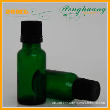 50ml Glass Essential Oil Bottles Green For Cosmetic