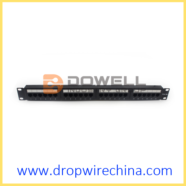 24 Port Cat 5e Patch Panel