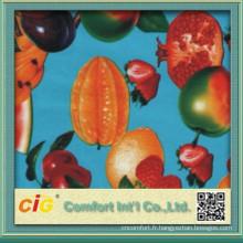 Nouveau Fruit conçoit 100 % frais de matière PVC Table Cloth