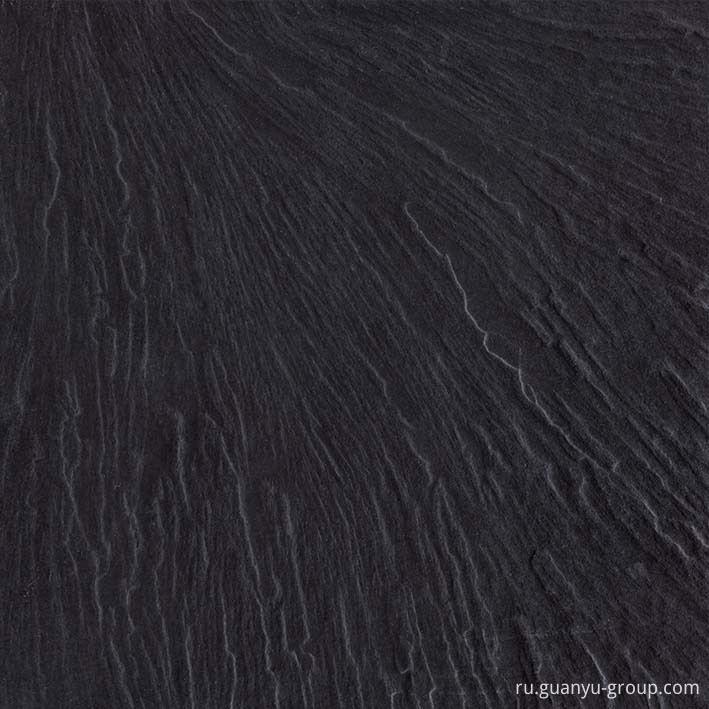 Rock Surface Black Rustic Porcelain Tile