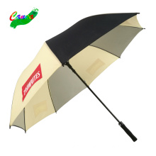 Screen printing machine yellow custom umbrella no minimum multi-color slogan logo custom printing umbrellas