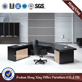 Latest Cheap Office Table Modern Design MDF Office Furniture (HX-G0200)