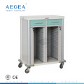 AG-CHT011 Hospital patient room nurse movable medical record carts
