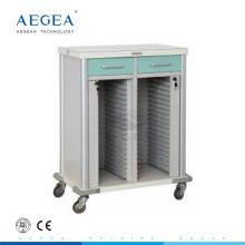 AG-CHT011 Krankenhauspatientenraumkrankenschwester bewegliche Krankenblattwagen