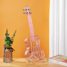 chenies professional brass instrument for musical   white color cheap ukulele china supplier acrylic colorful ukelele