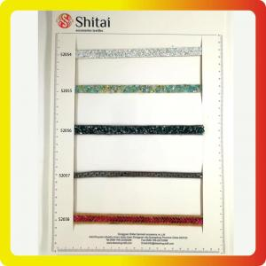 lastest designs clear bead crystal hot fix mesh