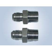 Filetage mâle métrique Raccords de tube évasés de cône de 74 degrés Remplacer les raccords Parker et les raccords Eaton