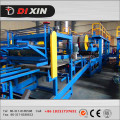Z - Lock EPS and Rock Wool Sandwich Panel Machine / Production Line