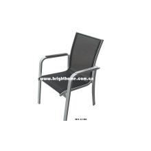 Chaise inclinable pliante pour chaise de jardin Outdoor Outdoor ou intérieure