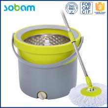 Neue PP Single Spin Mop Eimer mit Platic Basket