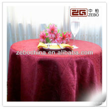 Hot selling design direct factory made wholesale custom hotel polyest table cloth
