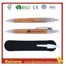 Высококачественная бамбуковая ручка для рекламного подарка