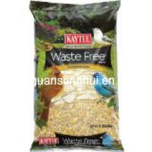 Bolsa plástica de alimentación de aves / bolsa de comida para mascotas