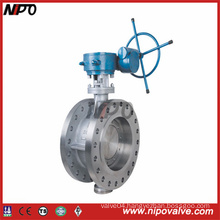 Stainless Steel Flanged Triple Eccentric Butterfly Valve