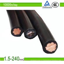 1/2 основных фотоэлектрических солнечных кабель ПВ1-F кабель ПВ 4/6/8mm2