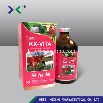 Vitamine AD3E Injection Bovins