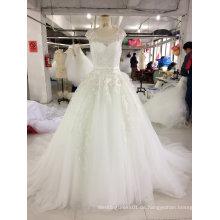 Hochwertiges Prinzessin Ballkleid Hochzeitskleid