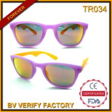 Tr034 nuevo diseño gafas de sol de estilo femenino hermoso Tr90