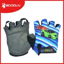 Дешевые Открытый фитнес-дети Велоспорт перчатки руки защищают с силиконовой рукояткой