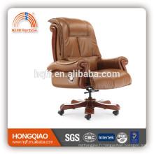 CM-B105AS pivotant bureau de bureau en cuir chaise de bureau
