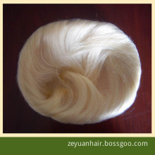 Human Hair Toupee 100% Virgin Brazilian Human Hair Wig for Men (T-04)