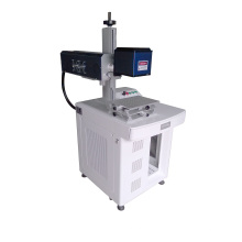 White and Black ABS Fiber Laser Marking Machine/Plastic Laser Marking Equipment