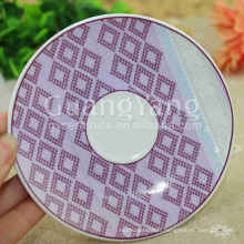China Exprimer la couleur différente disponible porcelaine émaillée moderne Square Dinner Set