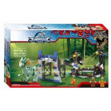 Boutique Baustein Spielzeug für Jurassic Legend Dinosaurier Escape 03