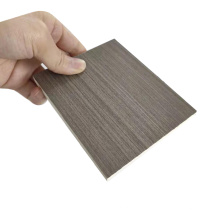 High Quality Good Price Laminated Texture Wood Grain Crust PVC Foam Board for Kitchen Cabinets