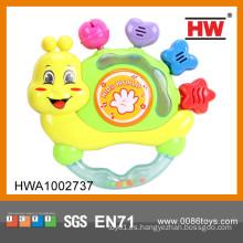 La campana caliente del cascabel del bebé del juguete de la venta B / O con la música hace al niño del instrumento musical