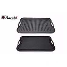 Stove-top Griddle,Cast Iron Griddle Pan,50.5*26cm