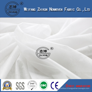 Tissu non-tissé hydrophile doux de Spunbond pour la couche-culotte de bébé, tissu non tissé de pp Spunbond, tissu non tissé de Spunbond d'animal familier