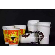 Alta qualidade do copo de papel de 16 onças para a bebida quente do café