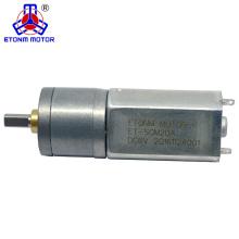 Motor de corriente continua del cepillo de carbono del eje central 6v para el armario