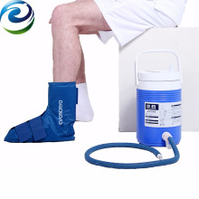 Knee & leg cold physical therapy device for knee kids